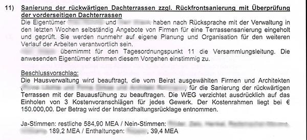 verant_sanierung3_kl - Protokoll Eigentumerversammlung Muster