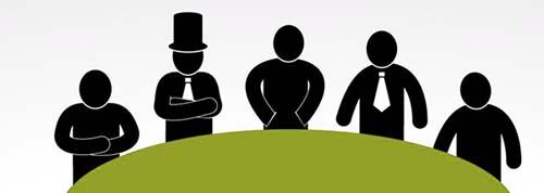 weg-verwaltungsmitarbeiter versammlung